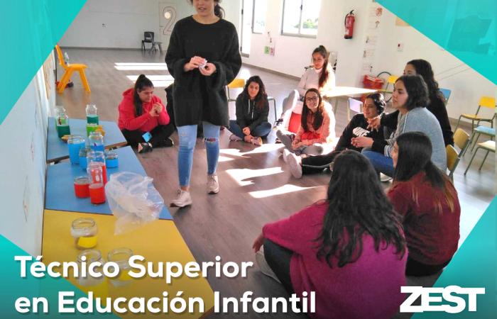 Técnico Superior en Educación Infantil